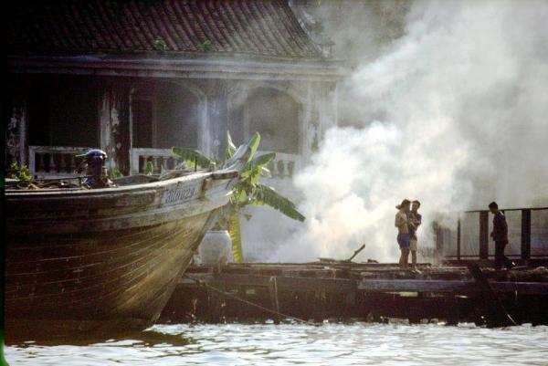 Thailand Dock Fire