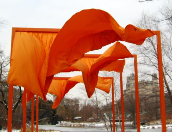 Christo Gates Billowing