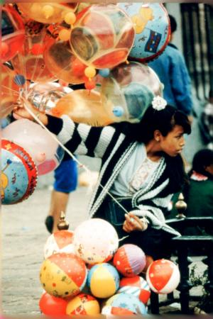 Mexicana with Balloons